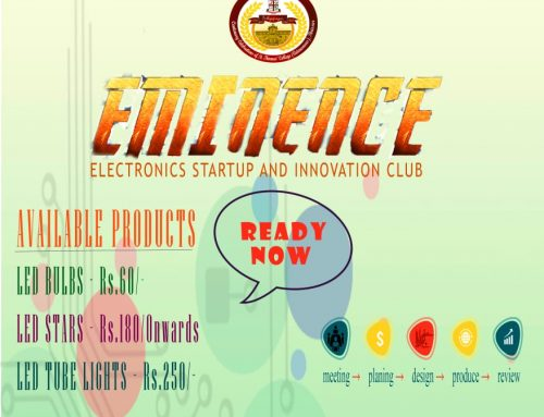 EMINENCE: ELECTRONICS STARTUP AND INNOVATION CLUB