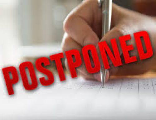 2nd Sem UG & PG Examinations are Postponed