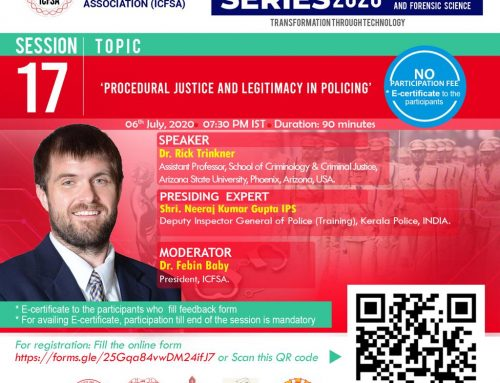 Webinar on Procedural Justice and Legitimacy in Policing