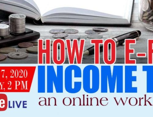 How to e-file Income Tax