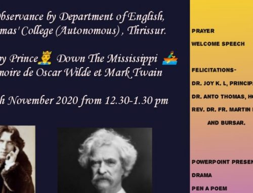 Day Observance: English Department
