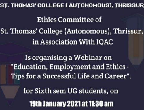 Webinar: Education, Employment and Ethics