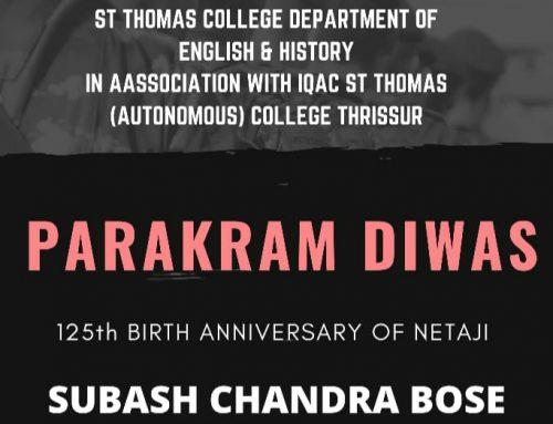 Parakram Diwas: 125 Birth Anniversary of Netaji