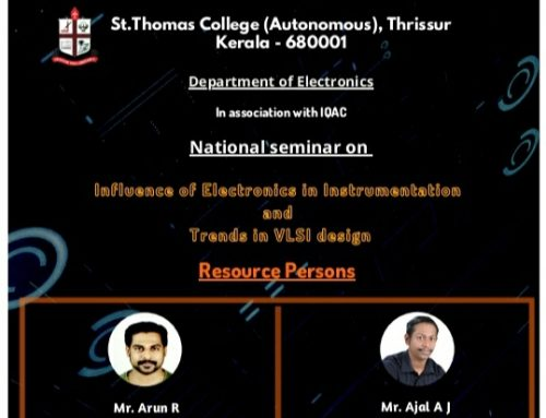 Department of Electronics: National Seminar