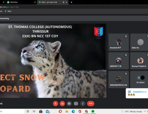 Wildlife Week Observation: NCC