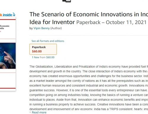 The Scenario of Economic Innovations in India: An Idea for Inventor